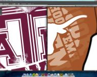 Texas A&M and UT Designs in Progress