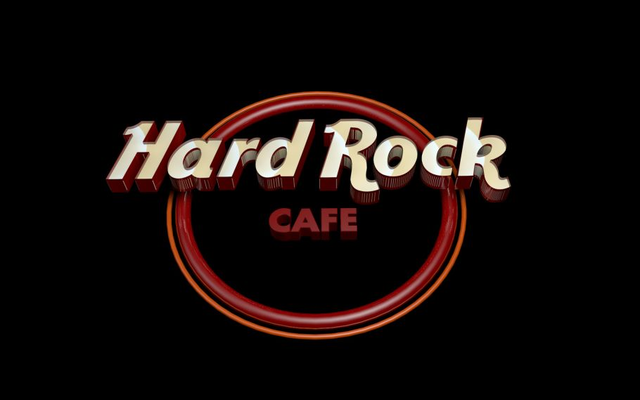 Hard Rock Cafe 3D Render1